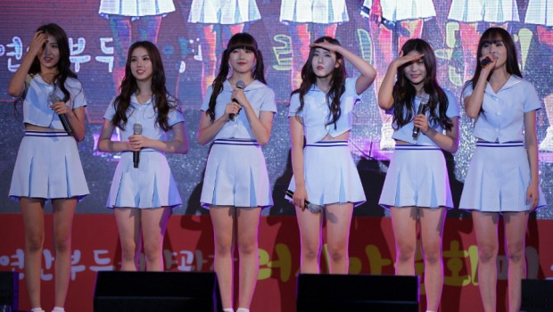 Korean girl group, G-Friend.