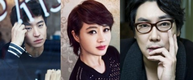 "The main cast of the new Korean drama, ""Signal"""