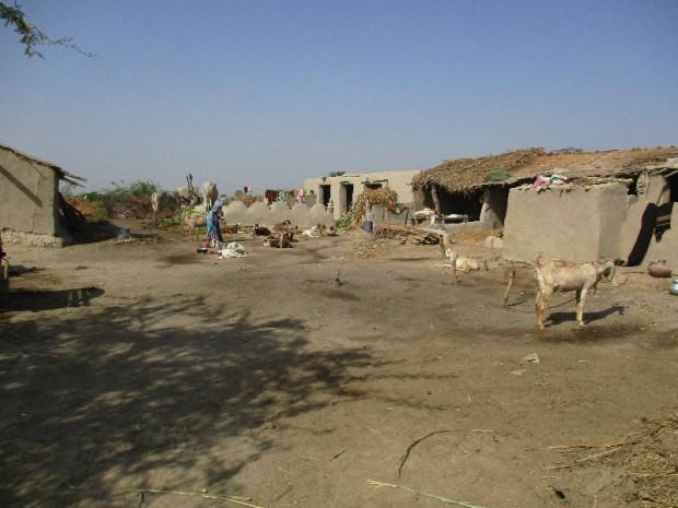 Homes of poor religious minorities