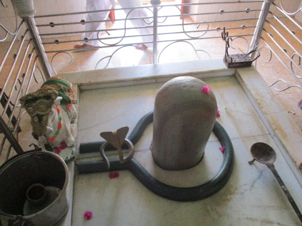 Inner view of Shiv Temple