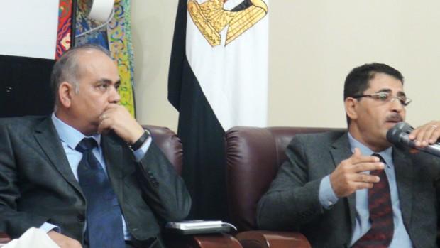 Dr. Mohamed Alim and the author Ashraf Aboul-Yazid