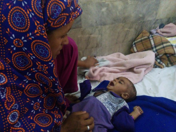 At least 150 children have died of waterborne disease since January this year in Pakistan's impoverished desert district of Tharparkar, which has been devastated by drought since 2013.
