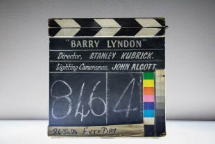 Film slate from 'Barry Lyndon' production.
