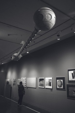 A scene at the museum