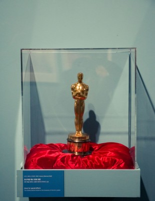 Kubrick's only Oscar, won for Best Visual Effects for '2001: A Space Odyssey'.
