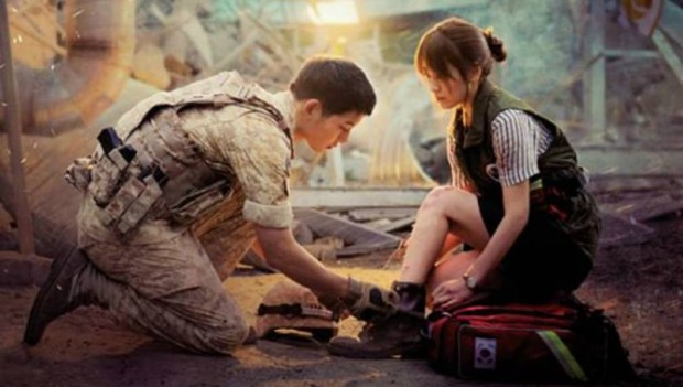 "The lead actors of ""Descendants of the Sun,"" Song Joong Ki and Song Hye Kyo. (Wikipedia)"