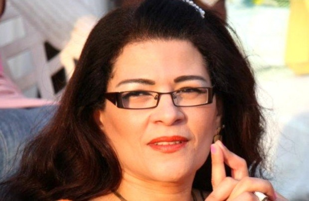 Egyptian writer Fatima Naoot.