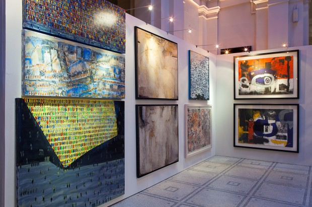 BAAB London 2016 - Faika Al Hassan, Balqees Fakhro, Hamed Al Bosta, Jamal Abdul Rahim works