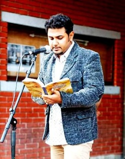Sonnet Mondal at the Struga Poetry Evenings, Macedonia 2014