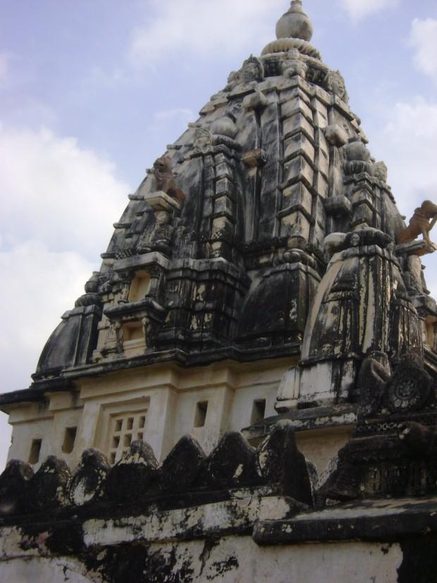 A view of Jain Temple in Nagarparkar town