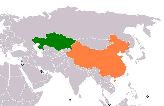 Kazakhstan_People's_Republic_of_China_Locator