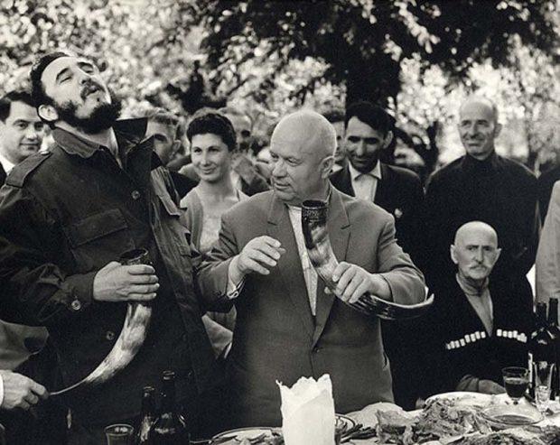 (Fidel Castro in Soviet Georgia)