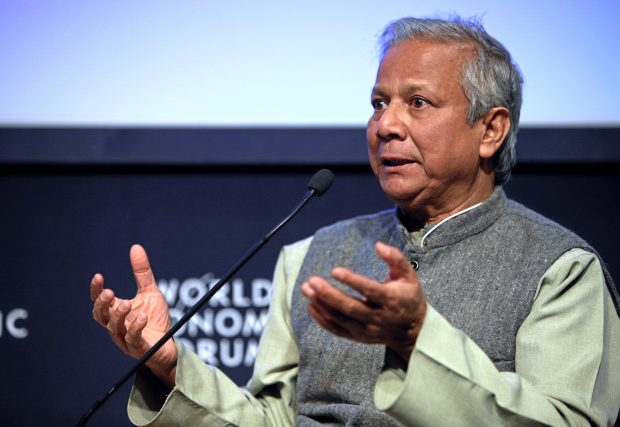 Muhammad Yunus at the Annual Meeting 2009 of the World Economic Forum in Davos, Switzerland