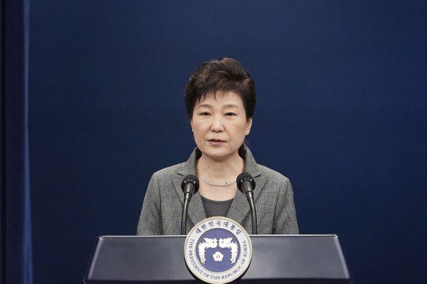 SOUTH KOREA-SEOUL-PARK GEUN-HYE