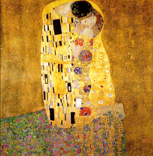"Gustav Klimt- ""The Kiss"""