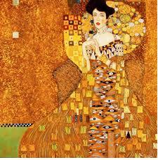 "Gustav Klimt- ""Portrait of Adele Bloch-Bauer I."""