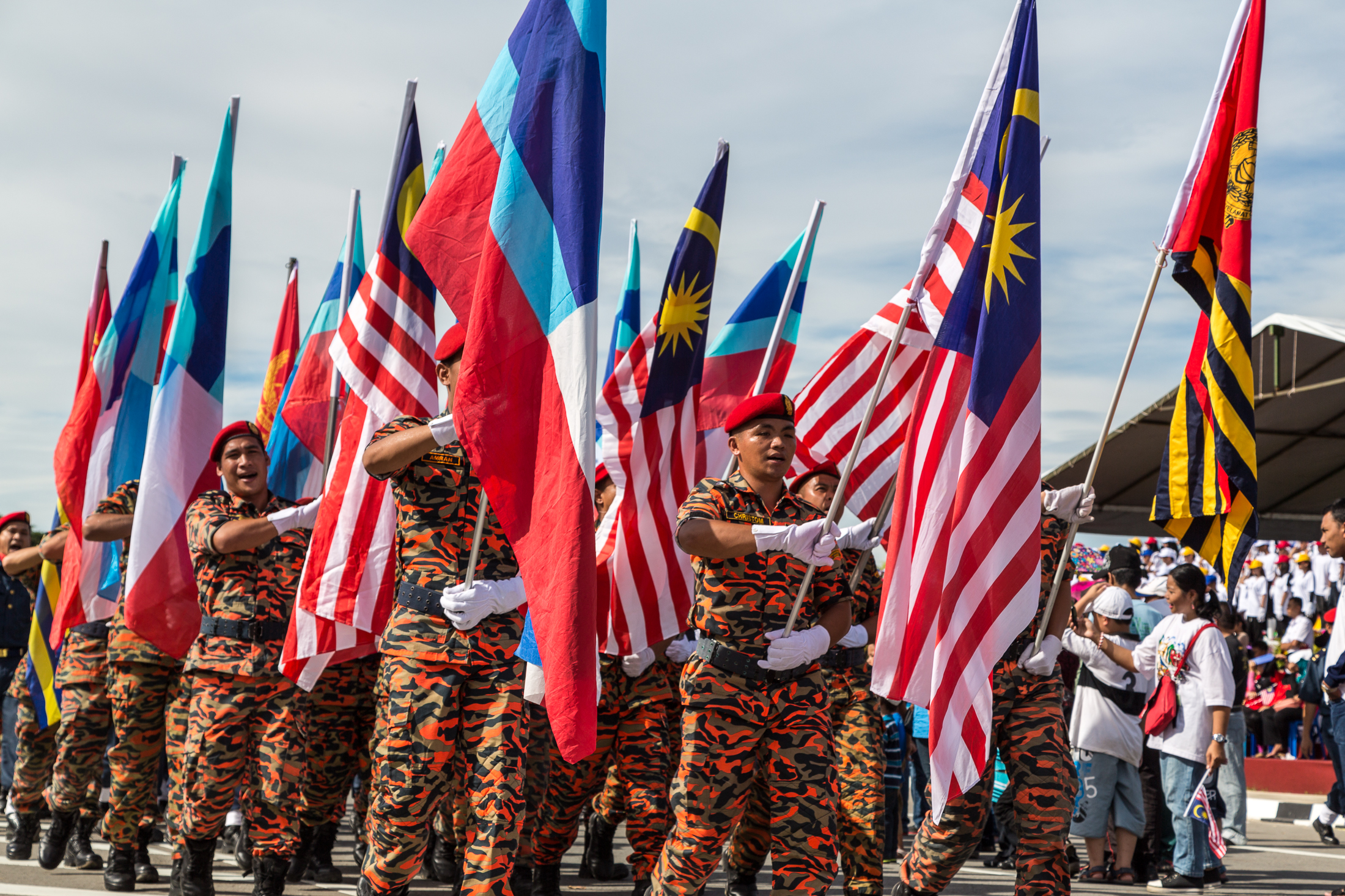 Malaysia's 60th Independence Day: challenges to sustain peace, economic progress, and political stability