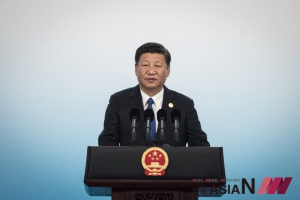 Chinese President Xi Jinping speaks during a press conference at the BRICS Summit in Xiamen, Fujian province, Tuesday, Sept. 5, 2017.  President Xi on Tuesday warned that the world economy faces growing risks and uncertainties from countries turning inward on trade and resisting combating climate change, delivering an implicit rebuke to his American counterpart, Donald Trump. (Photo : AP/NEWSis)