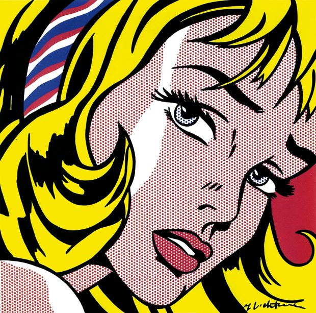 ROY LICHTENSTEIN_Girl with Hair Ribbon,1965. Photo: courtesy of M Contemporary