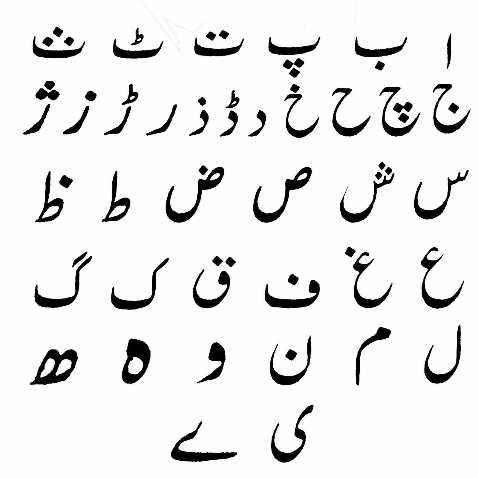 Pakistan's native languages have Perso-Arabic alphabets | THEAsiaN