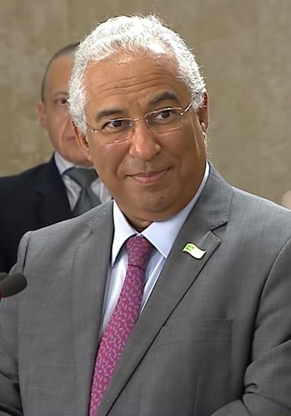Portuguese Prime Minister Antonio Costa