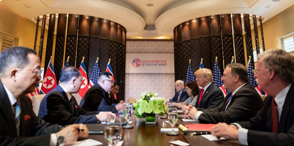 bilateral_meeting_with_respective_delegations_during_the_dprk-usa_singapore_summit_2