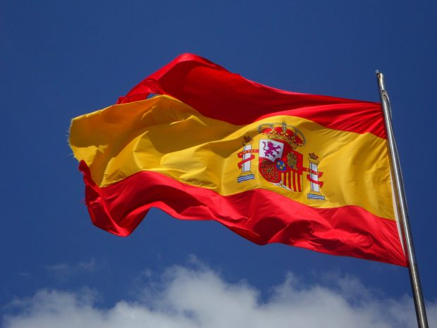 flag-flagpole-spain-54097