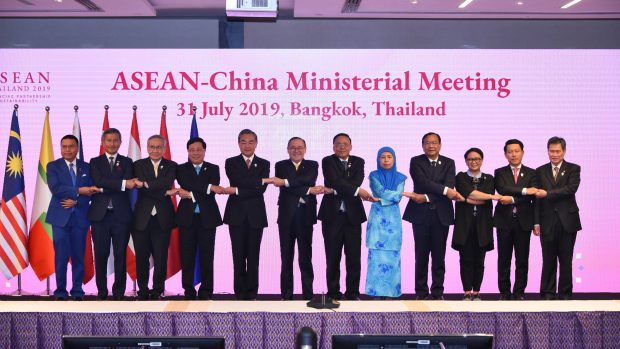 Participants at the ASEAN-China meeting in Bangkok (ASEAN Secretariat)