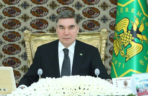 President Gurbanguly Berdimuhamedov  (TDH_