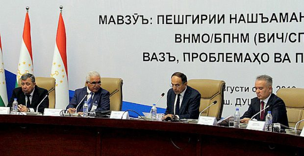 The council in session (Khovar)
