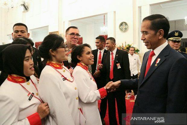 President Joko Widodo . (ANTARA)