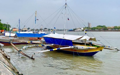 A wooden-hull motorized banca suspended pending an investigation - PNA