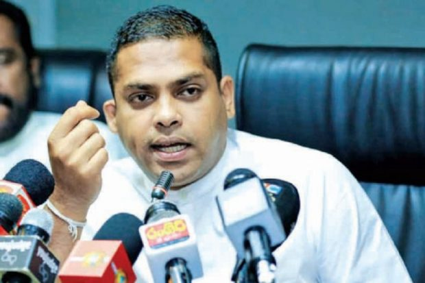 Sports Minister Harin Fernando (Sri Lanka Government Official News Portal)