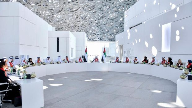 UAE cabinet holding a session - WAM