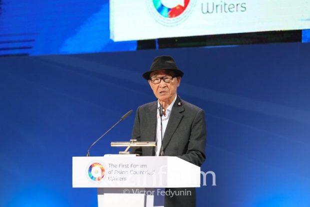 South Korean poet Ko Un (Kazinform)