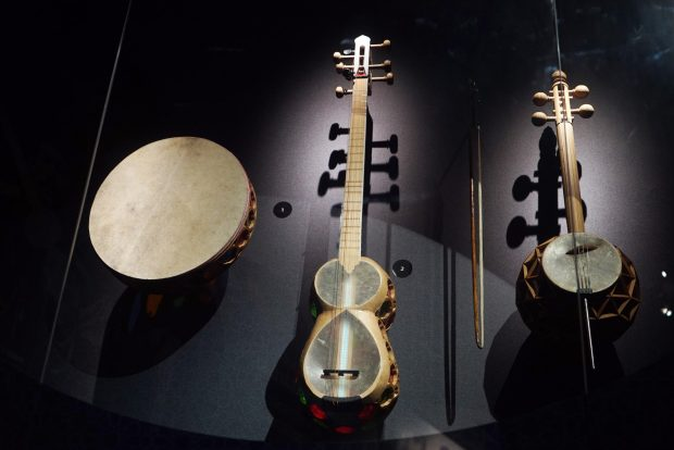Some of the instruments in the exhibition (Trend)
