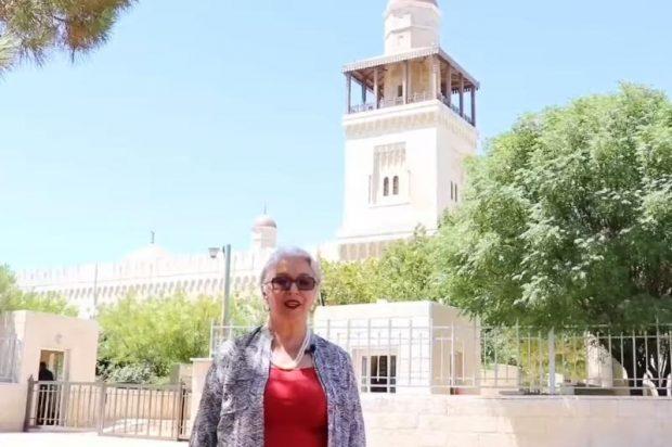 Jordan's former Minister of Culture Nancy Bakir (Kazinform)