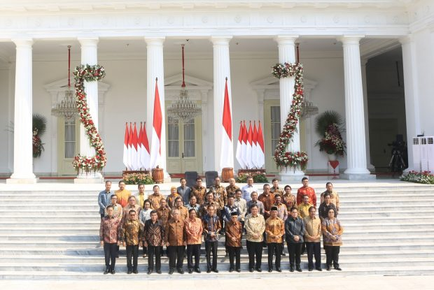 Indonesia's new cabinet (The Jakarta Post_