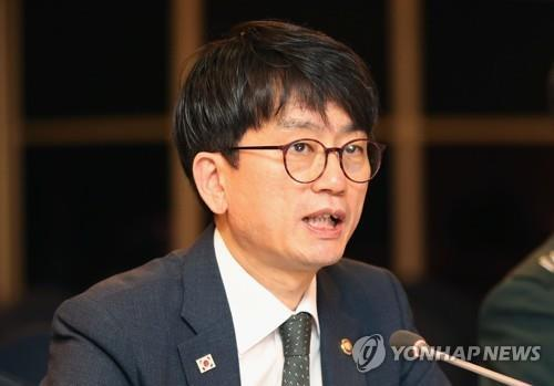 South Korea's Vice Defense Minister Park Jae-min (Yonhap)