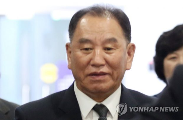 This June 4, 2018, file photo shows Kim Yong-chol, a senior North Korean official who led nuclear negotiations with the United States at the time. (Yonhap)