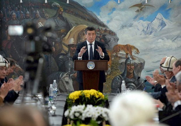 President Sooronbay Jeenbekov (Habar)