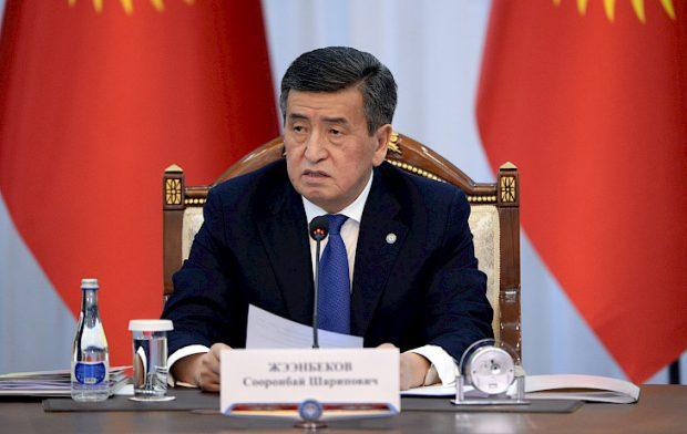 President Sooronbay Jeenbekov (Kabar)