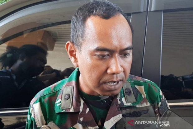 Chief of the Operations Division of the Hang Nadim Airbase Major Lek Wardoyo (ANTARA)