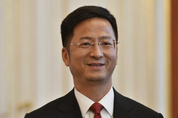 Ambassador Zhang Jianmin (CTK Photo/Michal Kamaryt)