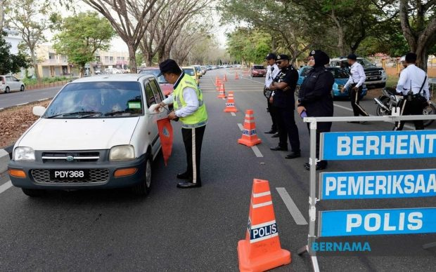 Malaysia under Nationwide Movement Control Order (Bernama)