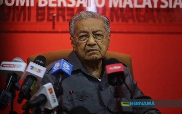 Dr Mahathir (Bernama)