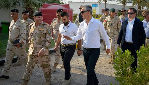 NATO Secretary General visited Iraq on 16 September 2016 (NATO)