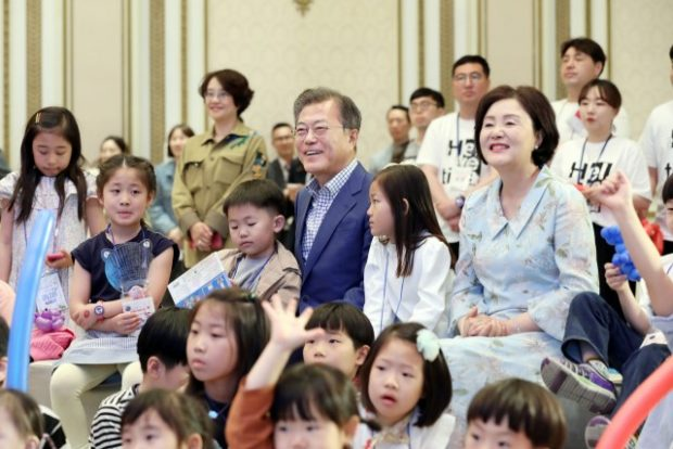 2019 Children's Day at the Blue House, Republic of Korea