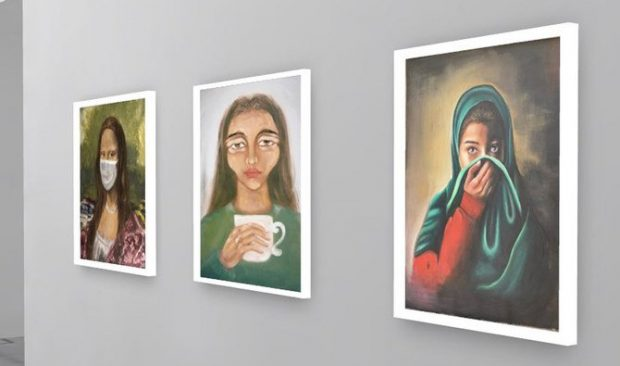 "Virtual ""Art of Isolation"" exhibition launched in Saudi Arabia (social media)"