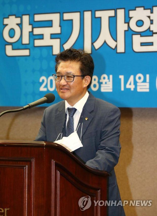 JAK president Kim Dong Hoon (Yonhap)